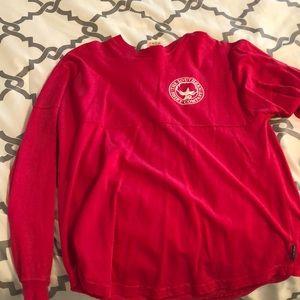 Hot pink spirit jersey